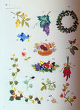 Small Flower and Floral Motifs Japanese Embroidery Book #233