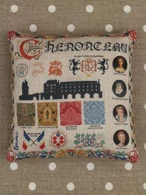 Chenonceau small cushion Kit