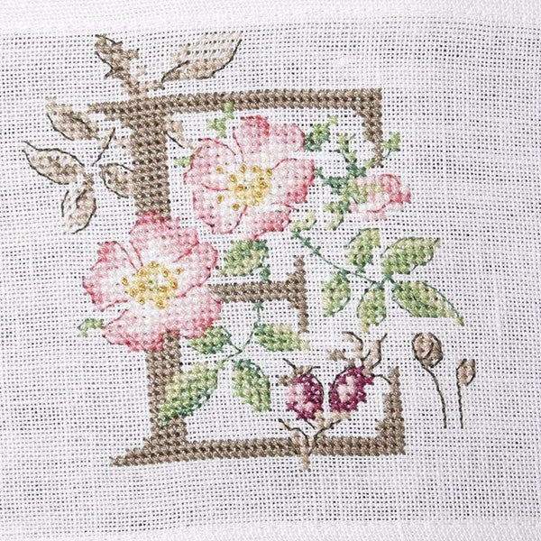 The french needle botanique alphabet chart by veronique enginger - Veronique enginger grille gratuite ...