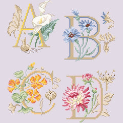 Botanique Alphabet Chart by Veronique Enginger