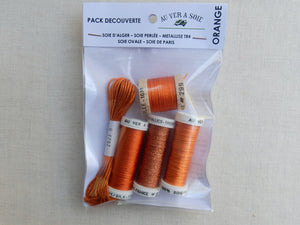 "Discovery Pack ""Alger/Ovale/Paris"" (Orange)"