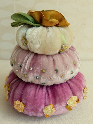 Turban Pin Cushion Kit - Pink