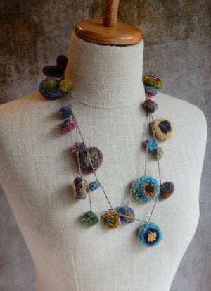 """Pop Velours "" Necklace"