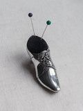 Pewter Pin Cushion -Shoe