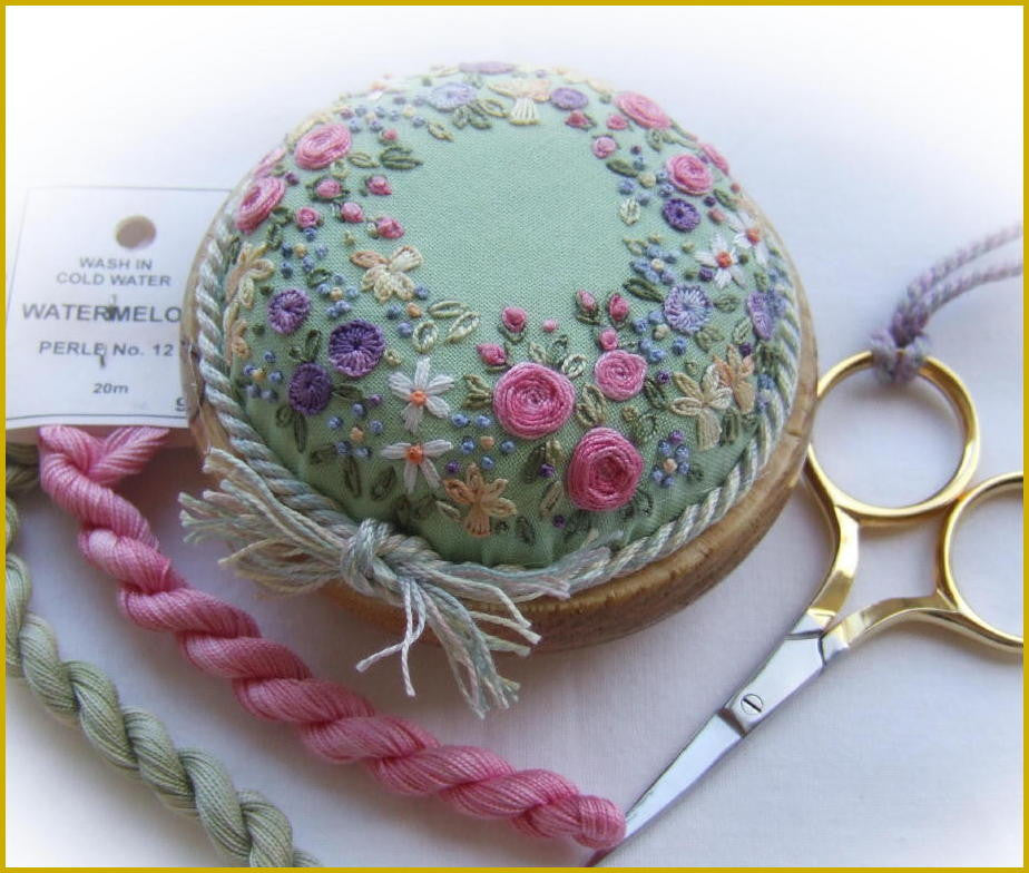 Sunshine and flowers pin cushion kit
