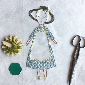 Petite Suzette Embroidery Sampler Kit by Jess Brown