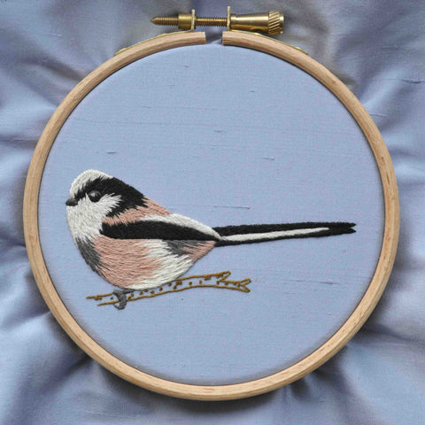 Silk Shading Long Tailed Tit - Kit