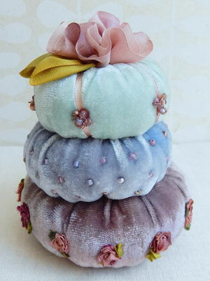 Turban Pin Cushion Kit - Blue