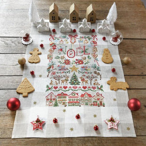 """Imagier de Noel"" Tea Towel"