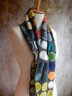 """Watercolor"" Wool Scarf"