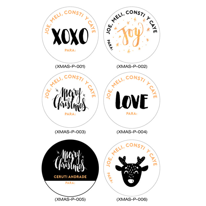 Stickers Personalizados B&N
