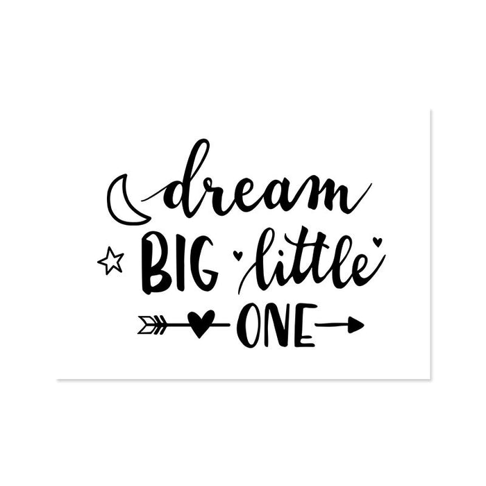 Ilustracion Dream Big Little One (ILUS17-025)