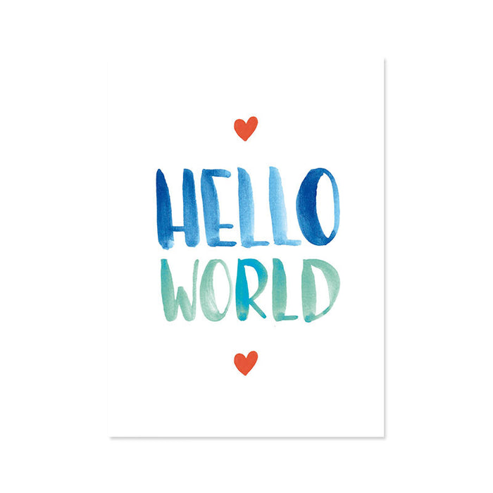 Ilustracion Hello World Corazon (ILUS17-041)