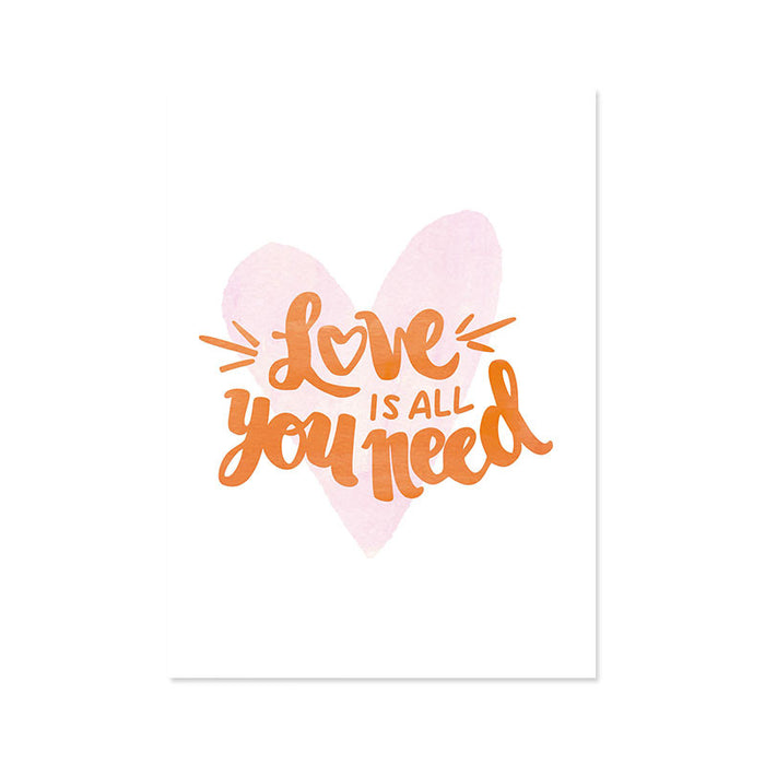 Ilustracion Love is all You Need (ILUS17-037)