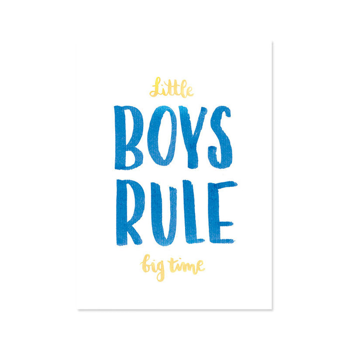 Ilustracion Little Boys (ILUS17-045)
