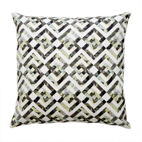 "LOZENGE PILLOW (20x20"") in Oyster"