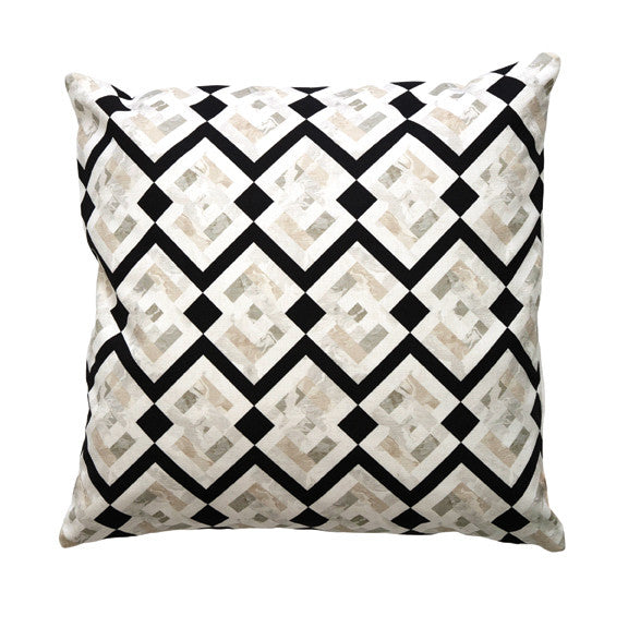 "LOZENGE PILLOW (20x20"") in Pearl"