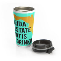 State Sport Stainless Steel Travel Mug