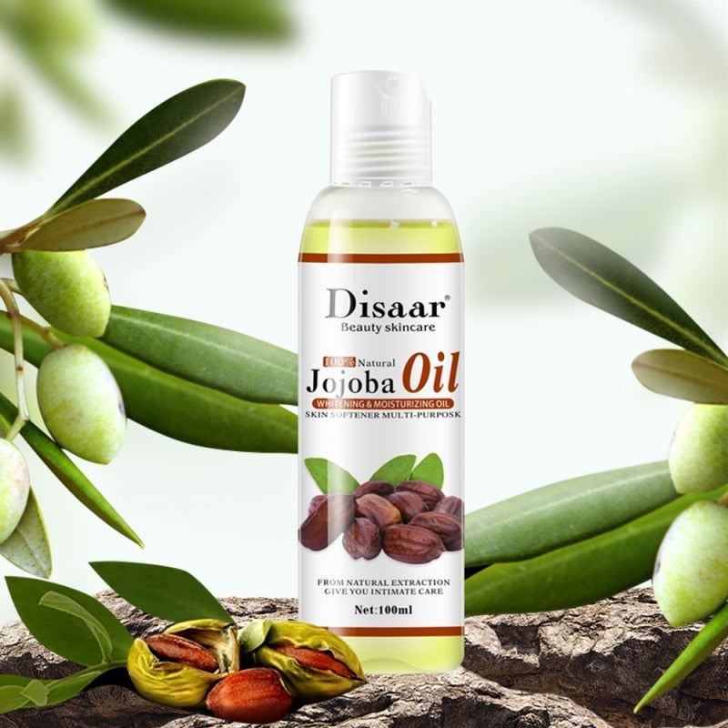 Pure Natural Jojoba Oil - skin care key