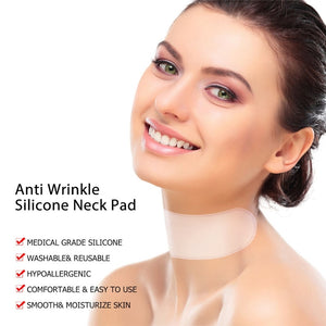 silicone pads for neck wrinkles - skin care key
