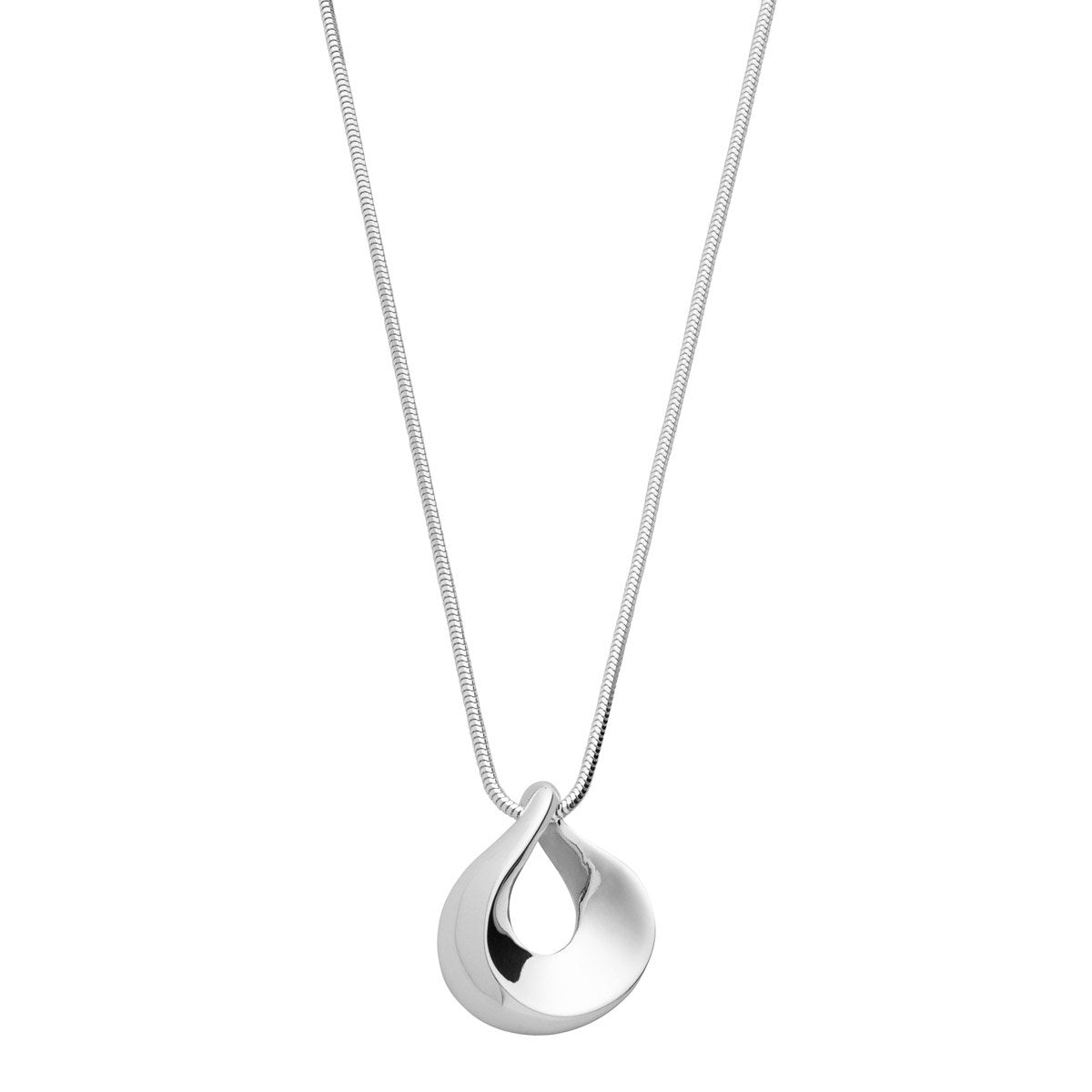 Najo N4146 Teardrops on my Chain Necklace