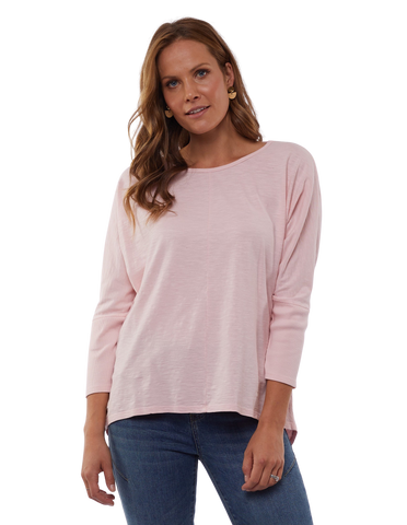 Foxwood Sara Long Sleeve Top - Pink