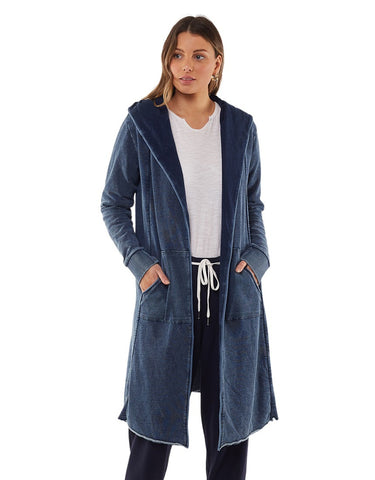 Foxwood Annie Hooded Cardigan Denim