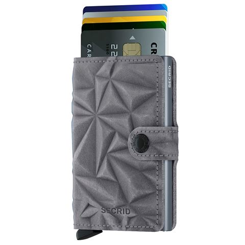 Secrid - Mini Wallet - 3D Prism Stone
