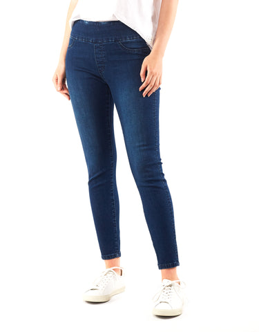 Elm - Lenny Denim Jegging - Dark Wash Denim