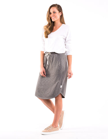 Elm - Fundamental Isla Skirt - Khaki