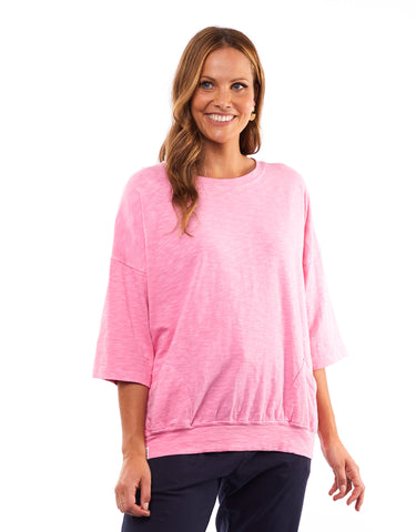 Elm - Fundamental Mazie Sweat - Bubble Gum Pink