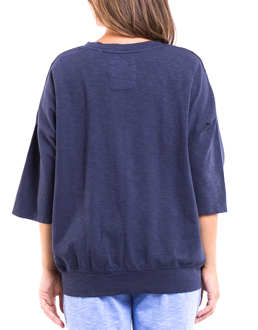 Elm - Fundamental Maizie Sweat - Navy