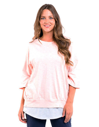 Elm - Fundamental Mazie Sweat - Pink