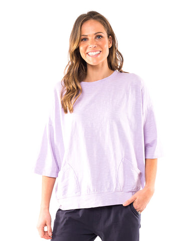 Elm - Fundamental Mazie Sweat - Purple
