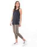 Elm - Fundamental Rib Tank - Navy