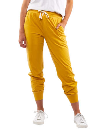 Elm - Wash Out Pant - Mustard
