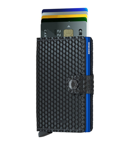 Secrid - Mini Wallet - Cubic Black Blue