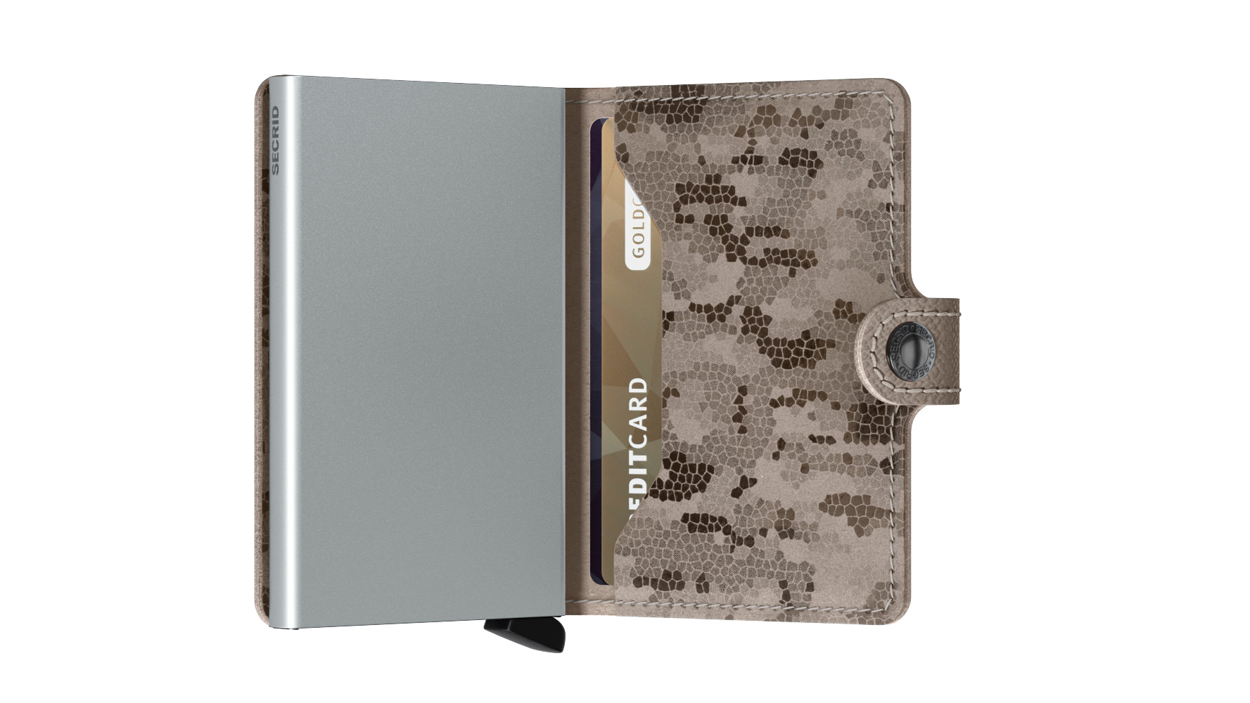 Secrid - Mini Wallet - Crisple Taupe Camo