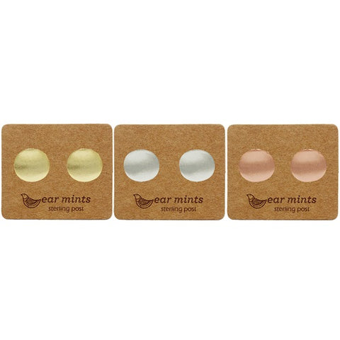 Ear Mints - Brushed Curved Plain Disc