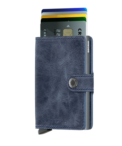 Secrid - Mini Wallet - Vintage Blue
