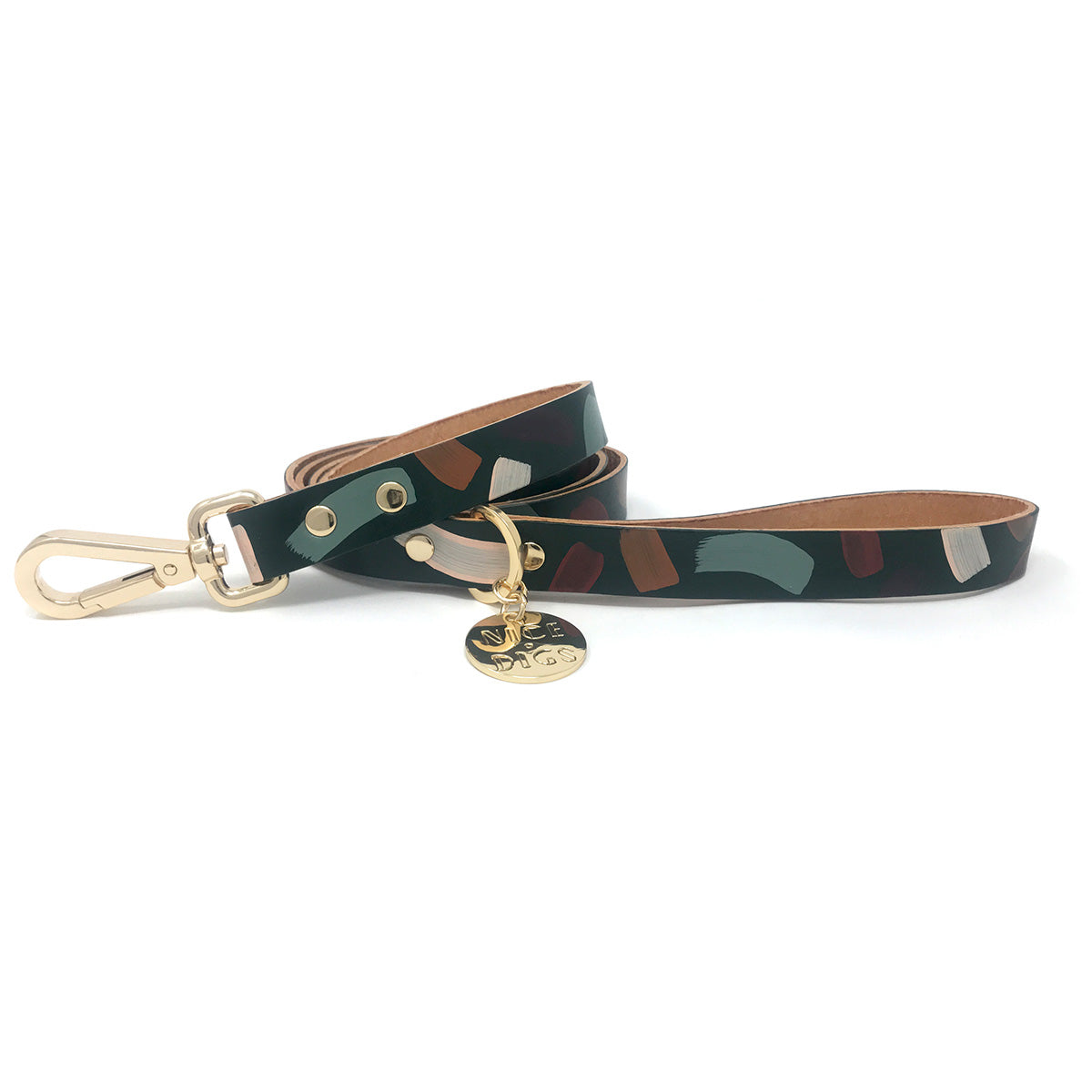 Nice Digs - Chiaro Dog Leash - Forest