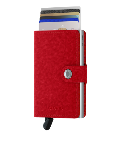 Secrid - Mini Wallet - Crisple Red