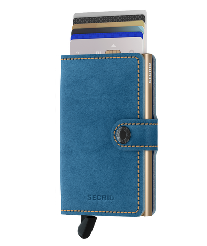 Secrid - Mini Wallet - Indigo 3 Titanium