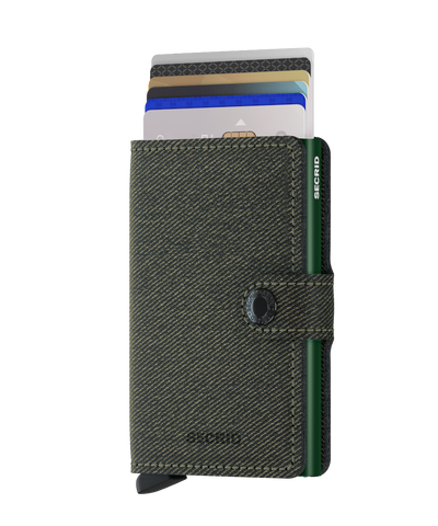 Secrid - Mini Wallet - Twist Green