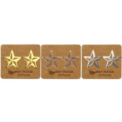 Ear Mints - Brushed Cutout Star