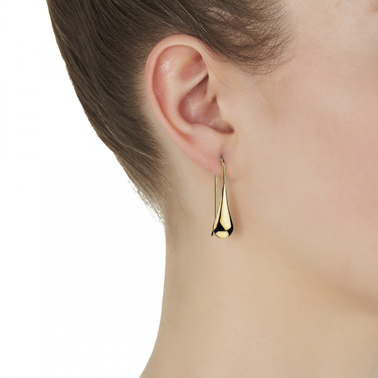 Najo E0113 My Silent Tears Earrings (Yellow)
