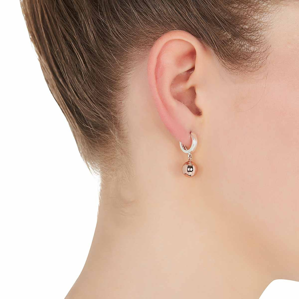 Najo E5557 Jiggle Earrings Rose