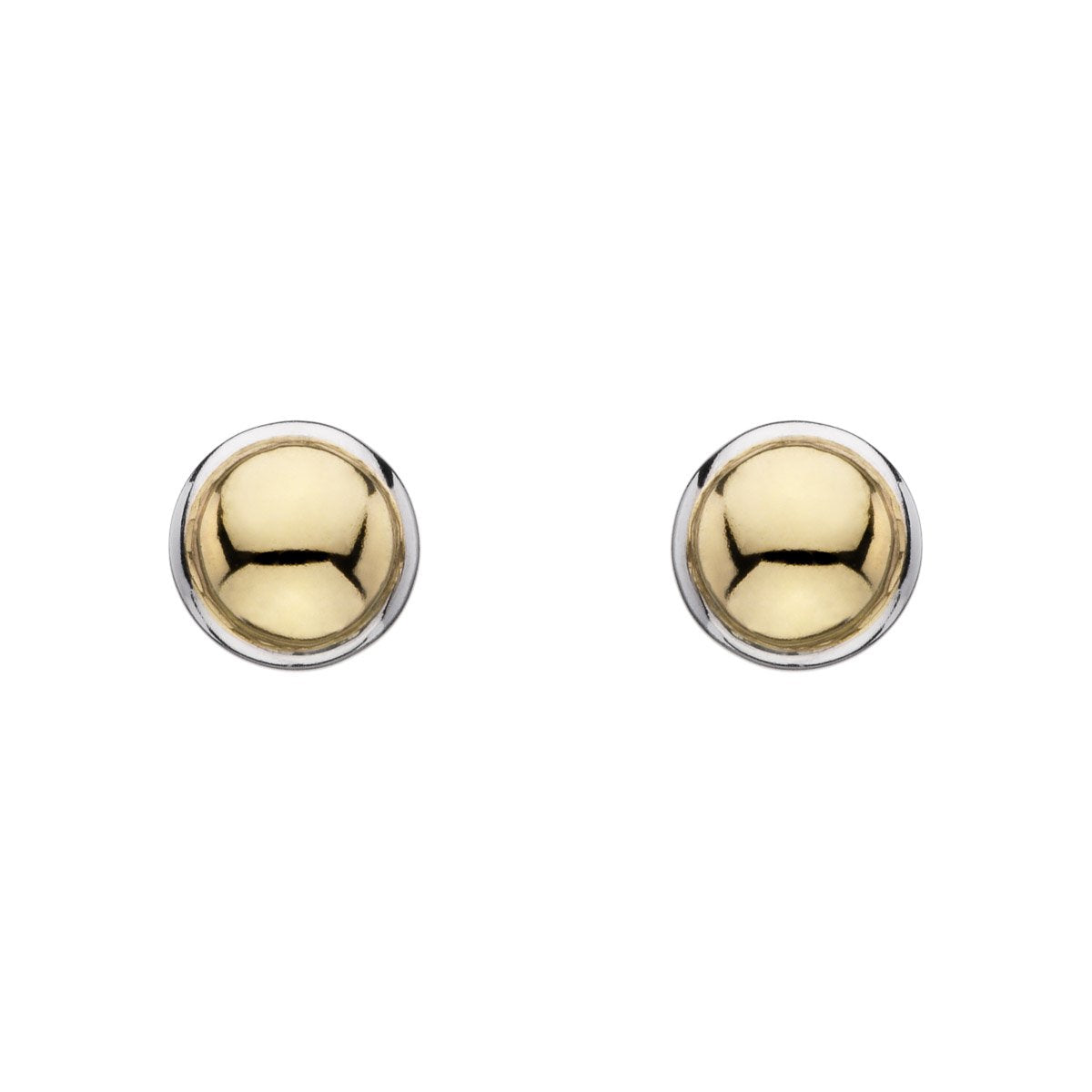 Najo E5906 Golden Glimmer Stud Earrings