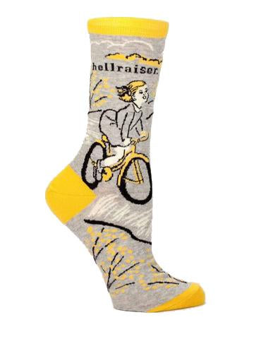 Blue Q - Crew Socks - Hellraiser