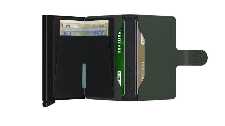 Secrid - Mini Wallet - Matte Green